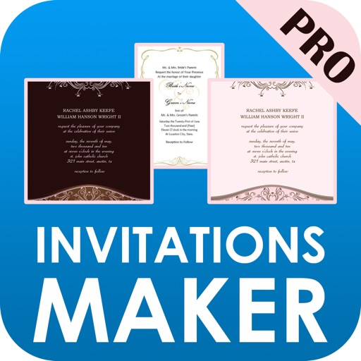 Invitations Maker Pro