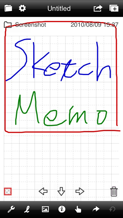 Sketch Memo Lite screenshot-0