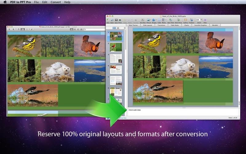PDF to PPT Pro Screenshot