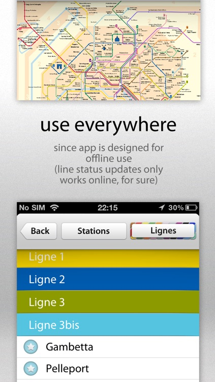 Metro Paris Maps screenshot-2