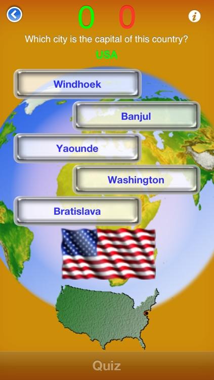 Countries & Capitals screenshot-3