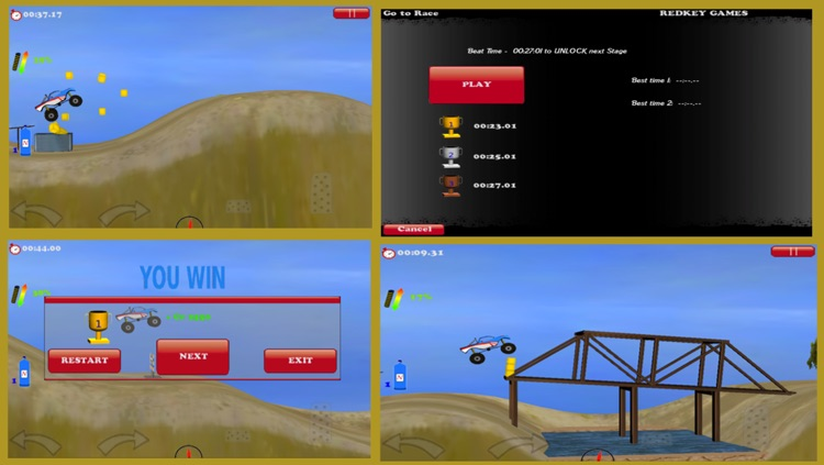 Offroad Monster Truck Lite screenshot-3