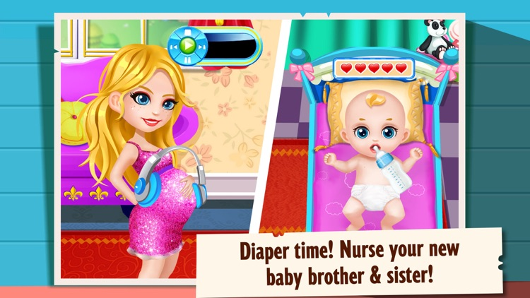 Newborn Siblings - Sister & Brother Baby Care