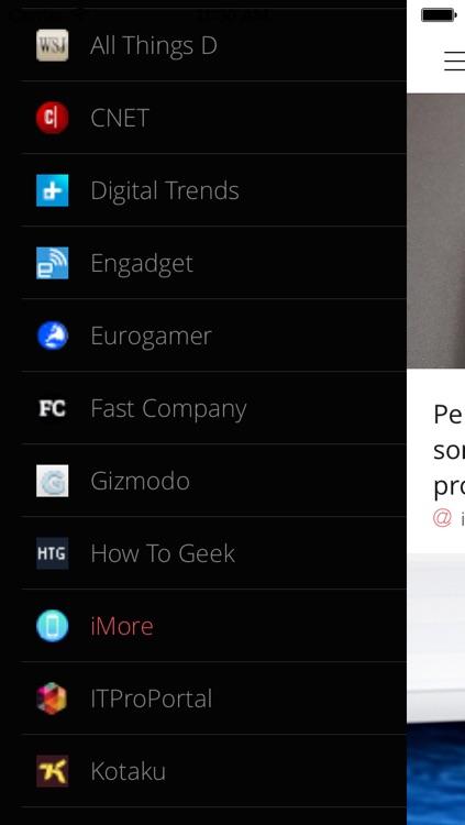 Technology News PRO - All that matters in the tech, geek and gadget world screenshot-3