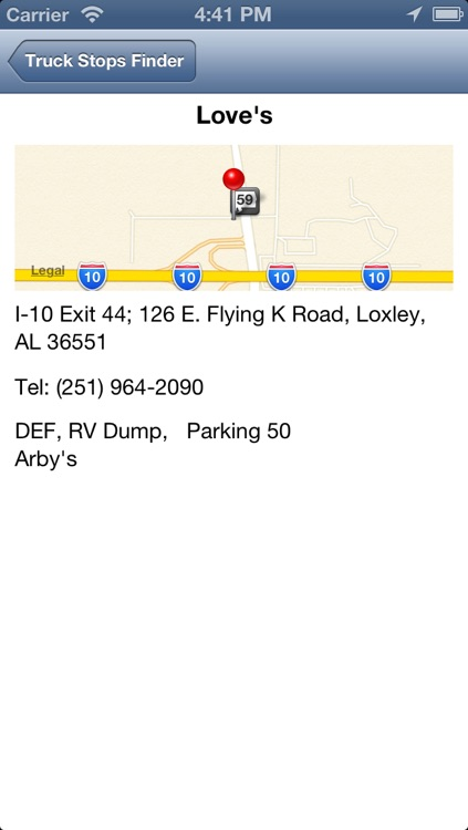 Truck Stops Finder - Pro