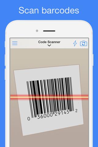 QR Reader for iPhone (Premium) screenshot 2