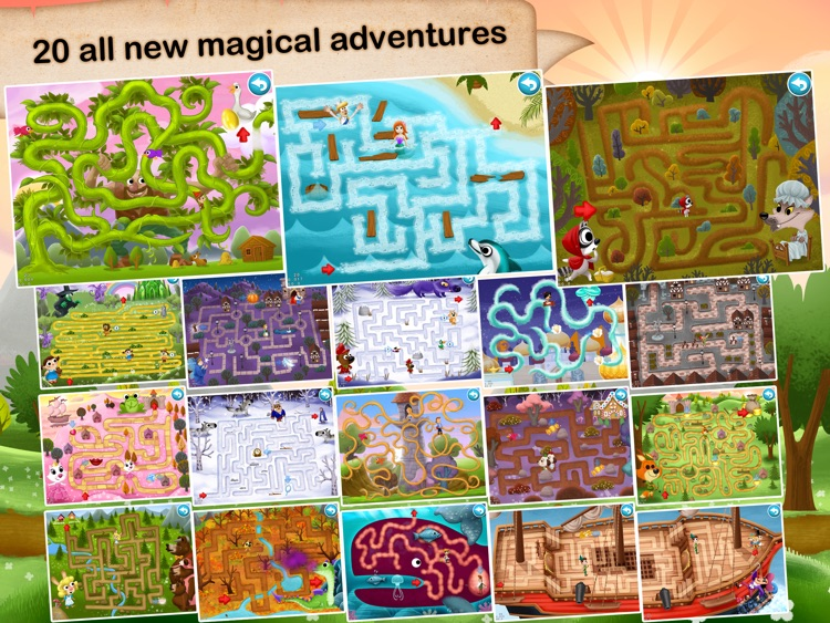 Fairytale Maze 123 - Fun learning with Children animated puzzle game screenshot-4