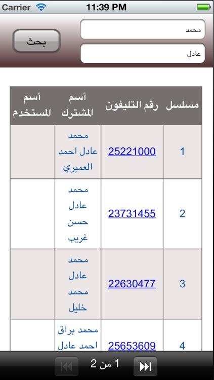 دليل هواتف الكويت 2013