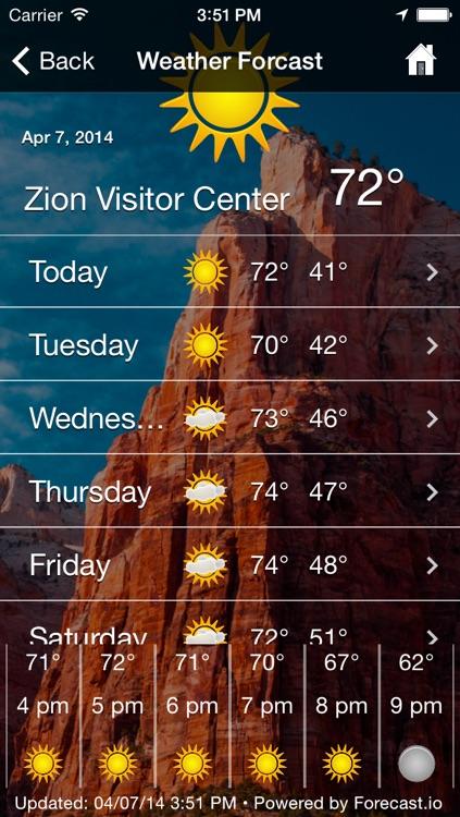 Zion National Park App screenshot-4