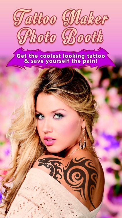 Tattoo Maker Photo Booth - A Catalog with awesome Fake Ink Designs