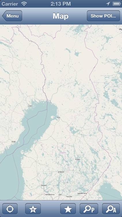 Finland Offline Map - PLACE STARS screenshot-1
