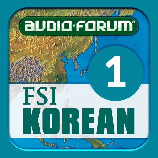 Korean Basic Course Vol. 1 - by Audio-Forum / Foreign Service Institute