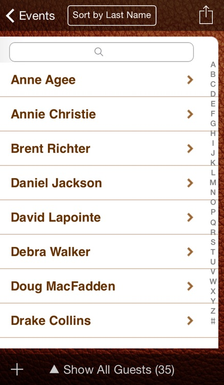 Guest List Organizer screenshot-2