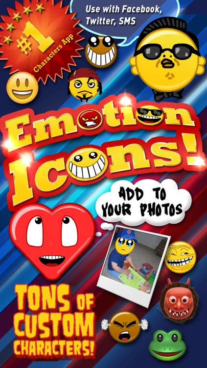 Emoji Characters and Smileys! screenshot-0