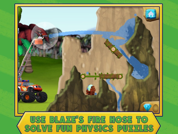 Blaze and the Monster Machines Dinosaur Rescue HD