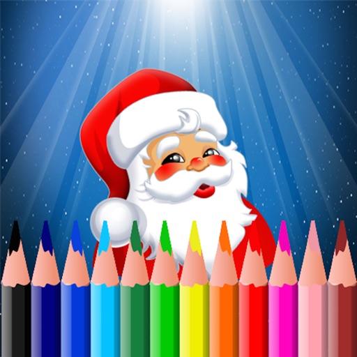 Christmas Coloring Book - Free Santa Claus Edition for preschool toddler