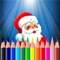 Christmas Coloring Book - Free Santa Claus Edition for preschool toddler