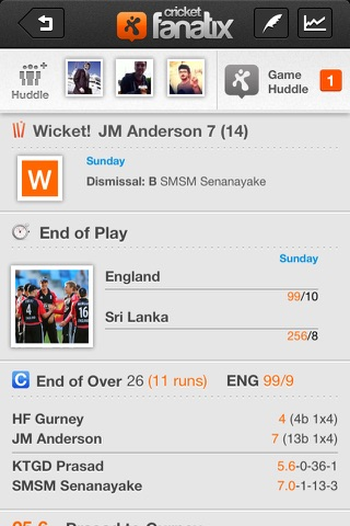 fanatix cricket - Powered by ESPNcricinfo screenshot 4