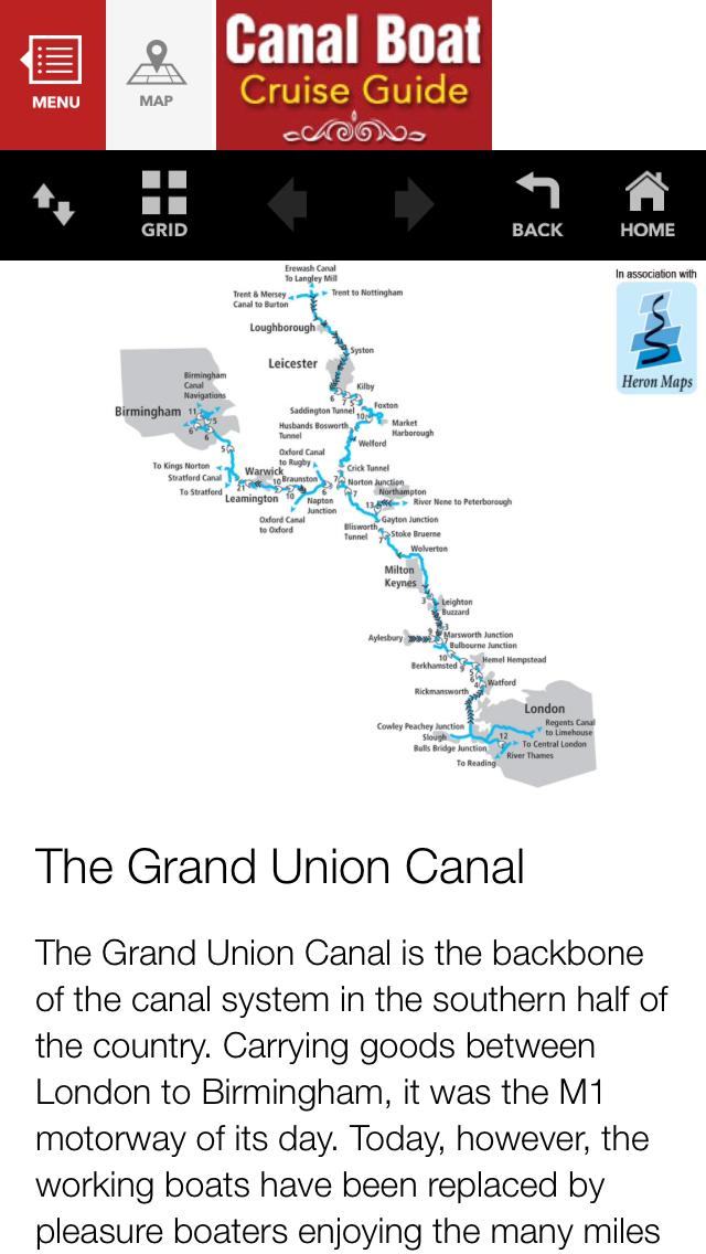 Canal Boat Cruise Guide screenshot three