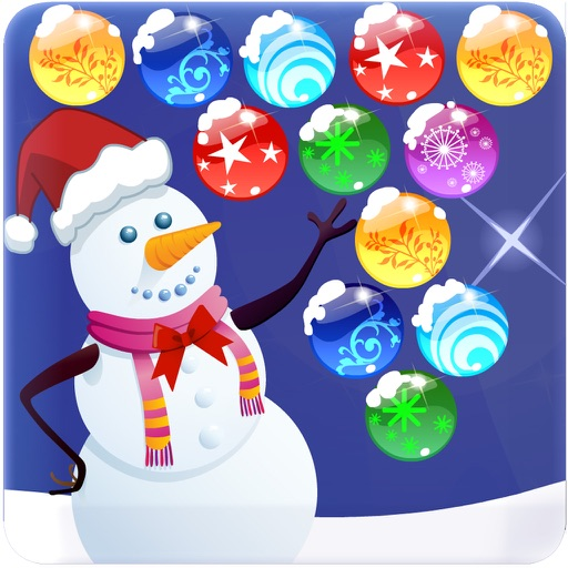 Christmas Bubble Shooter : Pop the bubble and play with addiction ...