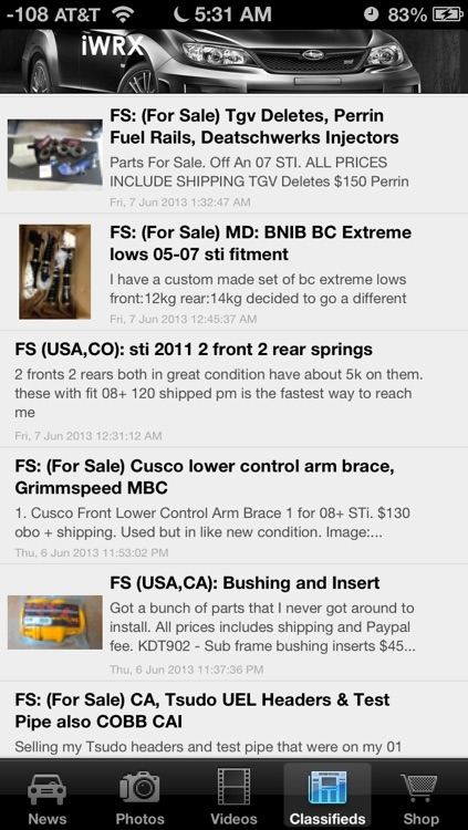 iWRX - News and Media for Subaru WRX STi Enthusiast! screenshot-3