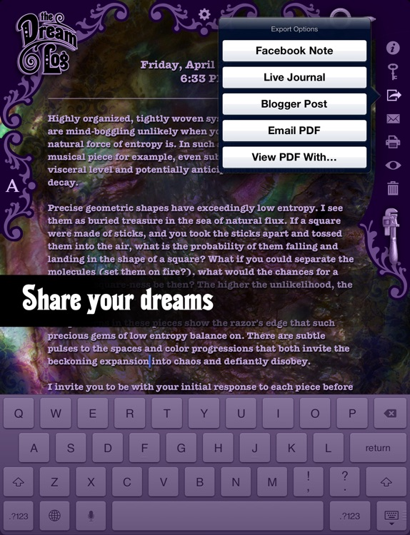 The Dream Log — A Diary For Dreaming screenshot-4