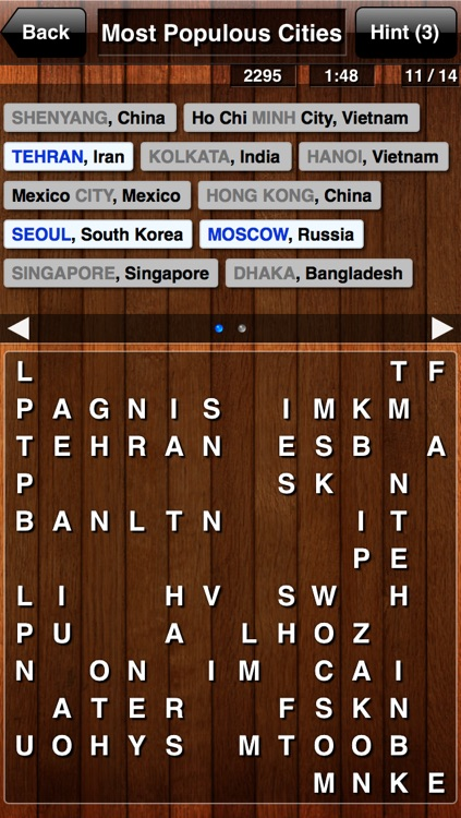 Word Search Unlimited Free: 1000+ Categories screenshot-3