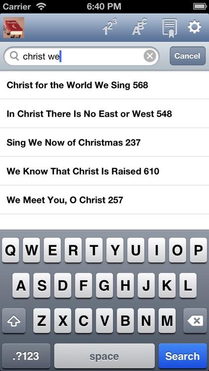 Hymnal Methodist. screenshot-4