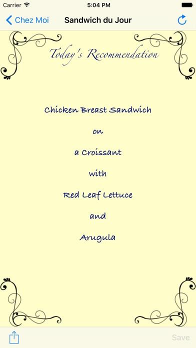 Chez Moi - Ideas for Lunch Screenshots