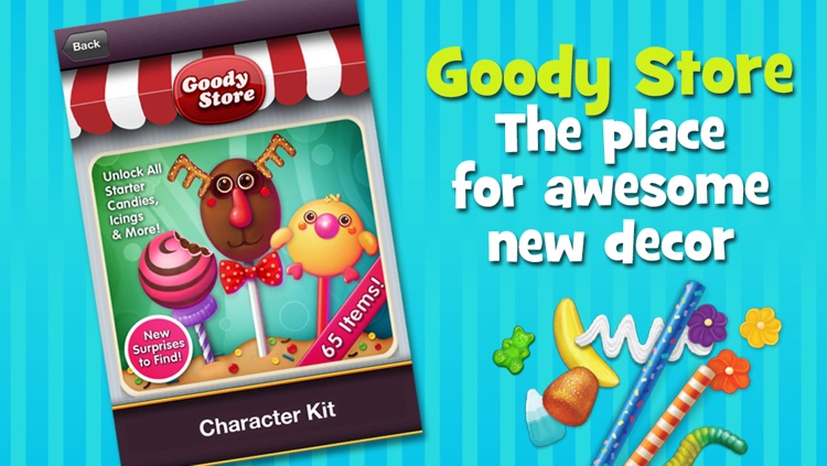 Cake Pop Party: Be CReAtiVe! screenshot-4