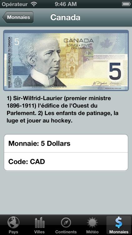 Pays du Monde Free screenshot-3