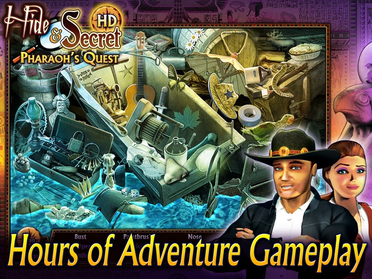 Hide and Secret: Pharaoh's Quest HD screenshot-4