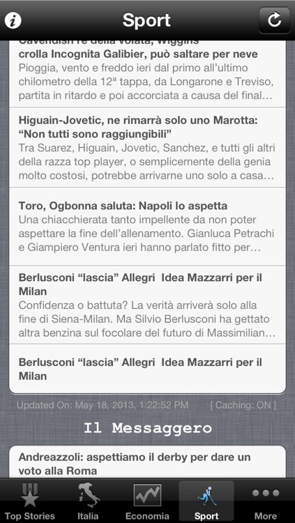 Italy News, Italian Notizie screenshot-2