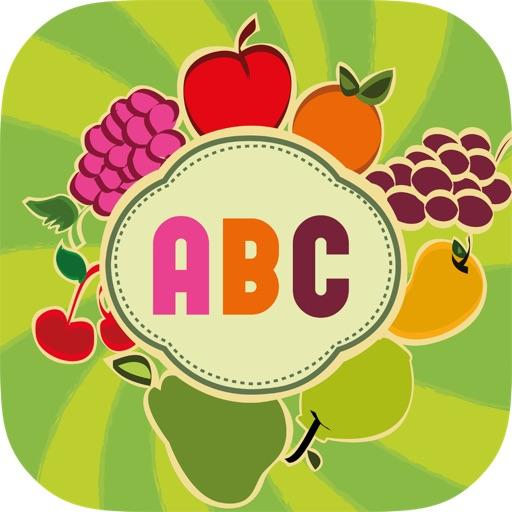 Fruit Alphabet for Preschool and Kids