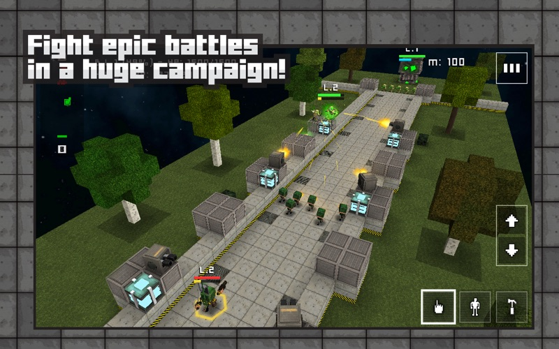 Block Fortress: War screenshot 1