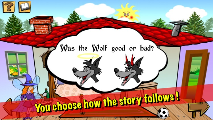 Red Riding Hood - Alternative Story screenshot-1