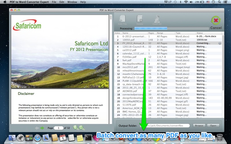 PDF to Word Converter Expert