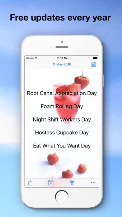 Bizarre Holidays Calendar review screenshots