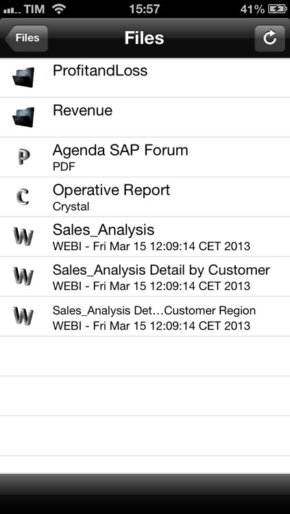WEBI Open – SAP Report Viewer for BusinessObjects Documents by Marco