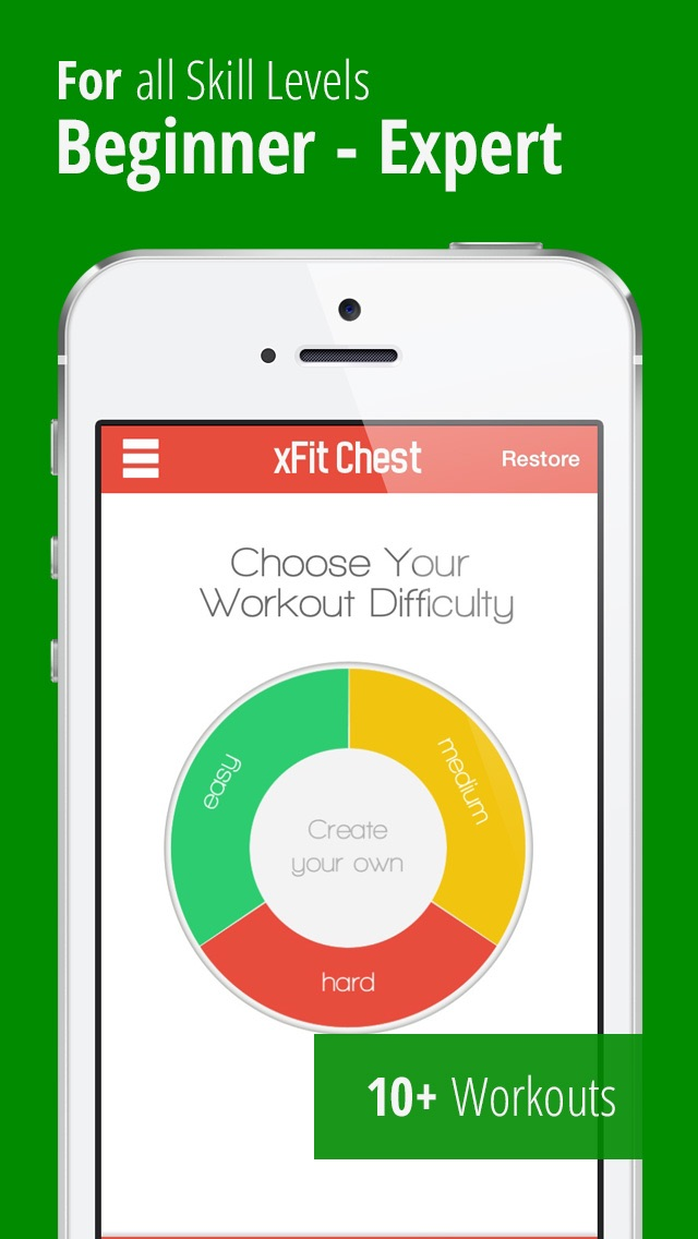 xFit Chest – Daily Workout for Perfect Lean Sculpted Pecs screenshot two