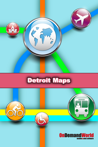 Detroit Maps - Download Smart Bus Maps and Tourist Guides. screenshot 1