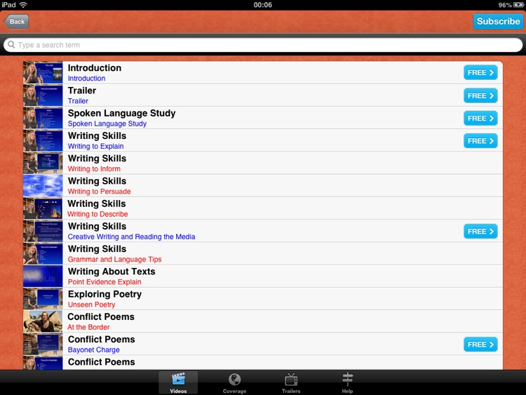 GCSE English: Revision Videos screenshot-1