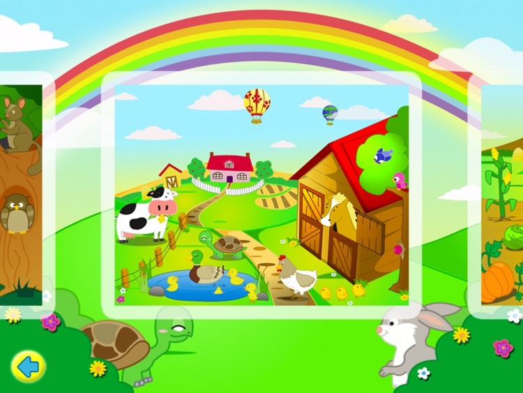 Farm Jigsaw Puzzles 123 for iPad - Fun Learning Puzzle Game for Kids screenshot-3