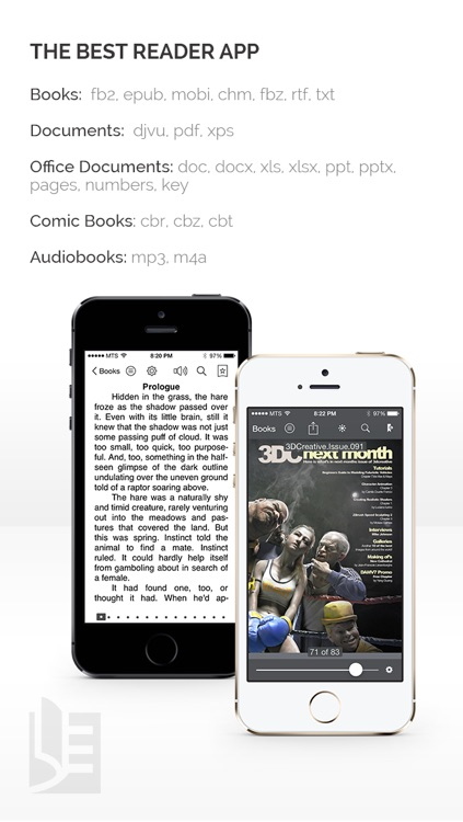 TotalReader for iPhone - The BEST eBook reader for epub, fb2, pdf, djvu, mobi, rtf, txt, chm, cbz, cbr