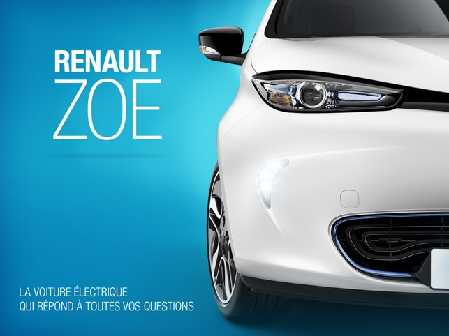renault zoe dans l app store. Black Bedroom Furniture Sets. Home Design Ideas