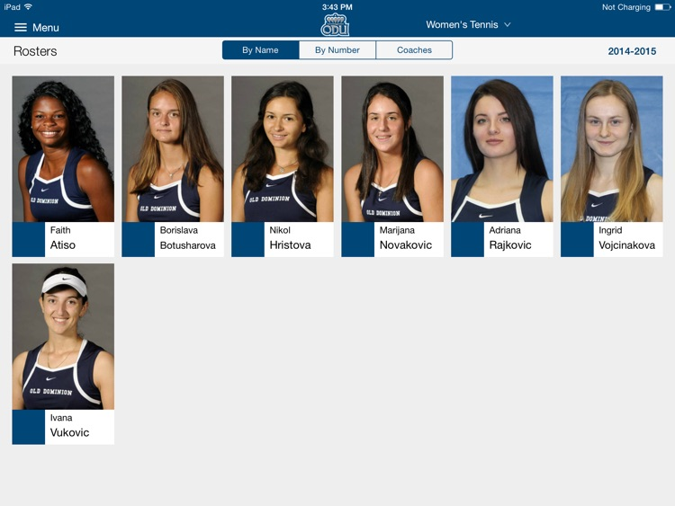 ODU Sports iPad 2015 screenshot-3