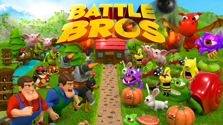 Battle Bros - Tower Defense screenshot-4