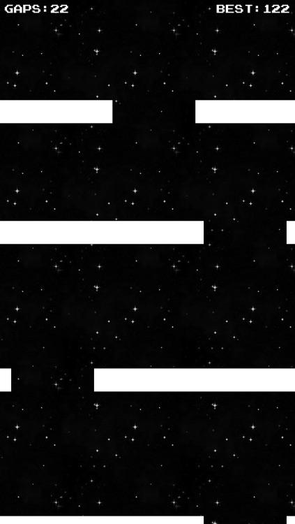 Amazing Gap Pilot - Retro Top Scrolling Arcade Game screenshot-3