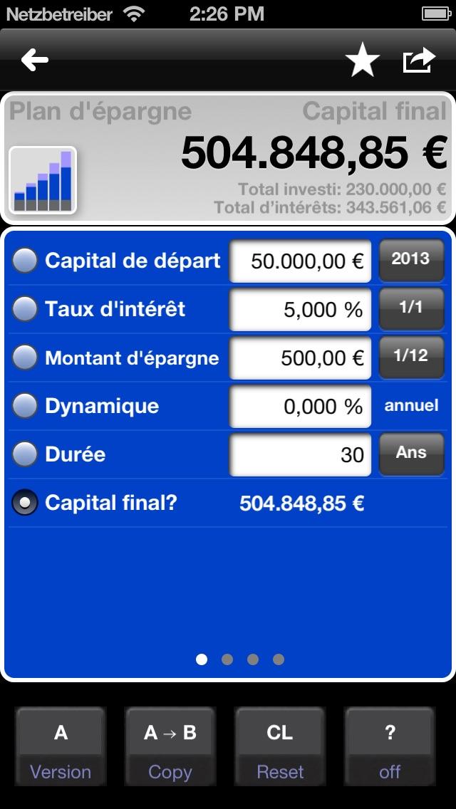 download Calculatrice de prêts et de l'épargne - MarkMoney apps 3