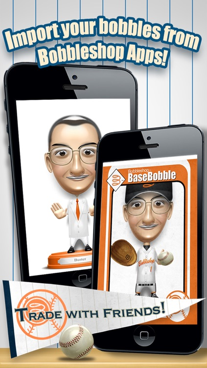 Basebobble - Bobblehead Avatar Maker App for Baseball from Bobbleshop screenshot-2